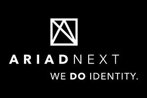 Logo Ariadnext Blanc + Baseline