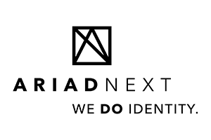 Logo Ariadnext Noir + Baseline