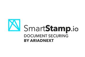 Logo Smartstamp Rvb + Baseline